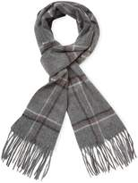 Saks Fifth Avenue Men's Window Pane/Check Scarf