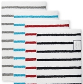 "Charter Club Elite Stripe 19.3"" x 30.0"" Fashion Bath Rug, Created for Macy's"
