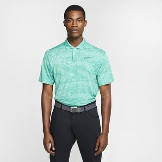 Nike Mens Camo Golf Polo Dri-FIT Vapor