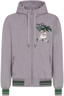 Dolce & Gabbana Jungle Explorer-Embroidered Hoodie