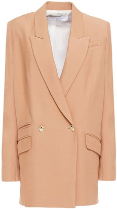 IRO Adelie Double-breasted Twill Blazer