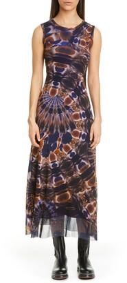 Fuzzi Print Sleeveless Dress
