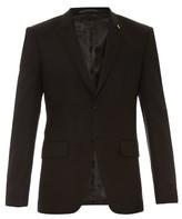 Givenchy Peak-lapel wool-blend blazer
