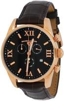 Swiss Legend Men's 'Bellezza' Quartz Stainless Steel and Crocodile-Grain Leather Watch, 22011-RG-01-AAT22M