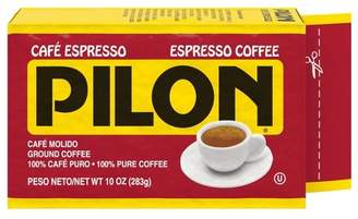 Cafe Pilon Pilon Arabica Blend Espresso Roast Dark Roast Ground Coffee - 10oz