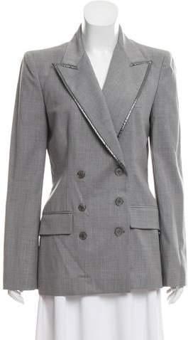Alexander McQueen Structured Wool Blazer