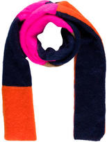 MSGM Paneled Mohair Scarf w/ Tags
