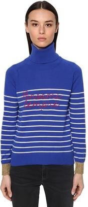 Sempre Giada Benincasa 'pensami Sempre' Cashmere Knit Sweater
