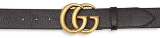 Gucci Dual Buckle Leather Belt