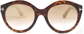 Tom Ford Round Frame Sunglasses