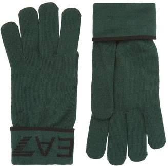 Giorgio Armani Ea7 Logo Gloves