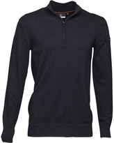Duck and Cover Mens Pele Jumper Deep Navy Melange