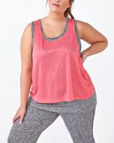 Penningtons Essentials - Plus-Size Dual-Layer Tank Top
