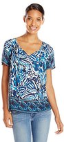 Lucky Brand Women's Batik Gardens Top