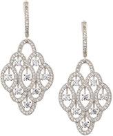 FANTASIA Pave CZ Crystal Chandelier Drop Earrings