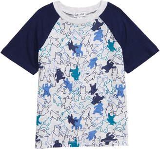 Splendid Dancing Bear Print T-Shirt