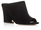 Sam Edelman Wayne Peep Toe Wedge Slide Sandals