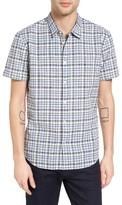 John Varvatos Men's Collection Mayfield Slim Fit Plaid Sport Shirt