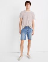"Madewell 9"" Denim Shorts in Eastchase Wash"