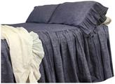 Superior Custom Linens Chambray Denim Bedspread, Queen 3-Piece Set