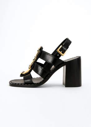 Prada 95mm Gladiator Leather Sandals