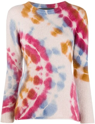 The Elder Statesman Tie-Dye Slim Fit Top