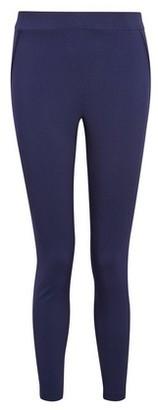 Dorothy Perkins Womens Dp Petite Navy Bengaline Trousers