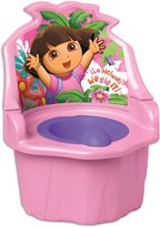 Ginsey Nickelodian Dora The Explorer 3 In 1 Potty Trainer, Pink