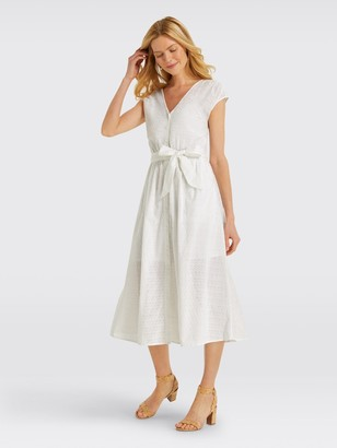 Draper James Collection Eyelet Button Front Dress*
