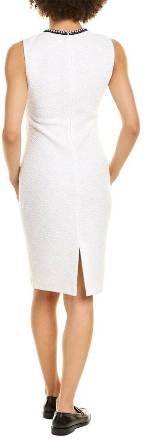 Thumbnail for your product : St. John Ana Wool-Blend Sheath Dress
