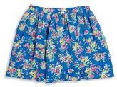 Ralph Lauren Toddler's, Little Girl's & Girl's Floral Twill Skirt