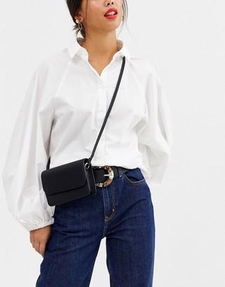 Asos Design DESIGN mini cross body bag-Black