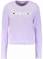Carven Embroidered printed cotton sweatshirt