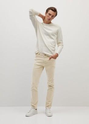 MANGO MAN - Slim-fit tan Patrick jeans beige - 28 - Men