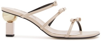 YUUL YIE Daylight 65 cream leather mules