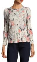 Rebecca Taylor Floral Jersey Top