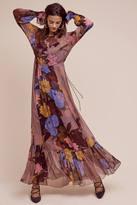 Tracy Reese Eudicot Silk Maxi Dress