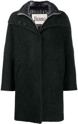 Herno Layered Pea Coat