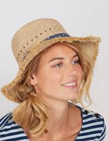 Fat Face Frayed Edge Straw Hat