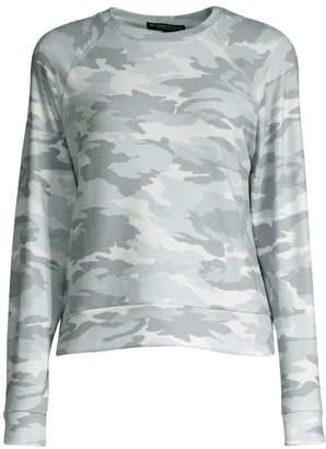 Beyond Yoga Favorite Camo Printed Raglan Sweater