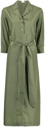 Colombo Belted Midi Shirt Dress