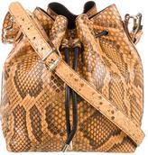 Proenza Schouler Python Bucket Bag