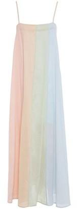 Mara Hoffman Philomena Color-block Cotton-gauze Maxi Dress