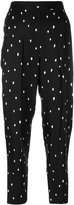 3.1 Phillip Lim Printed pintucked cropped pants