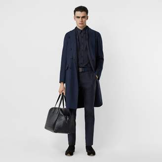 Burberry Double-faced Wool Cashmere Tailored Coat
