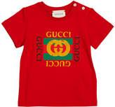 Gucci Short-Sleeve Vintage Logo T-Shirt, Size 3-36 Months