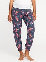 Old Navy Maternity Drawstring Cropped Lounge Pants