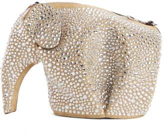 Loewe Embellished Elephant Mini Leather Crossbody Bag