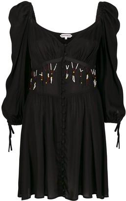 Giacobino bead detail dress