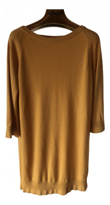Hermes Yellow Cashmere Knitwear